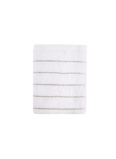 İrya Wendy Mıcrocotton Havlu Beyaz-Bej 30*50 Bej